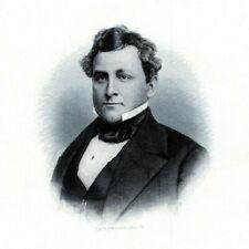 Rev. THOMAS BRADFORD DOVER DELAWARE 1880s Portrait Steel Engraving Art Print