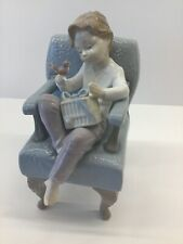 """Lladro """"An Unexpected Gift"""" #6510 Excellent Used Condition"""