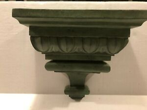 New Wall Sconce Decorative Wooden Shelf - Green