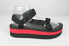 TEVA FLATFORM UNIVERSAL RED WOMENS SANDALS SIZE 10 US