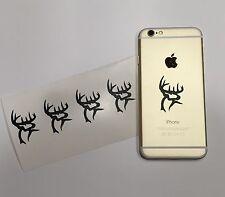 6 Deer Antlers Buck Commander Hunter Hunting  Sportsman IPOD CELL PHONE STICKER
