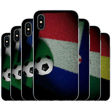 Dessana World Cup Championship Teams TPU Silicone Cover Case Phone for Apple