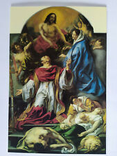 St. Charles Cares for The Plague Victims of Milan J Jordaens Picture Postcard