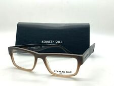 NEW KENNETH COLE NEW YORK  KC0264 046 TWO TONE BROWN 53-18-140MM / CASE