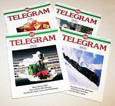 LGB Telegram Magazine 2001 Complete Set Volume 12 Numbers 1-4
