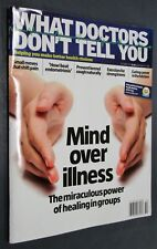 Mind Over Illness Magazine Back Issue What Doctors Don't Tell You Oct 2017