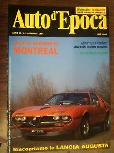 Zeitschrift Auto Oldtimer Jahrgang Komplett Jahr 1994 Mieten Cars Fiat Lancia