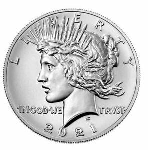 2021 Peace Dollar - US Mint  CONFIRMED PRE ORDER