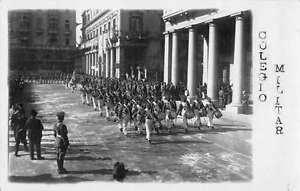 Lisbon Portugal ? Colegio Militar Military Real Photo Antique Postcard J45057