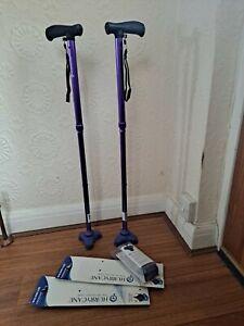 Two Hurrycane Walking Stick