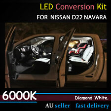 Car Interior Roof Read Map Doors LED Light Upgrade Kit Suit Nissan D22 Navara