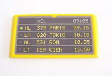 PLAYMOBIL (C124) AEROPORT - PANNEAU AFFICHE HORAIRES DEPARTS ARRIVEES 3186-3886
