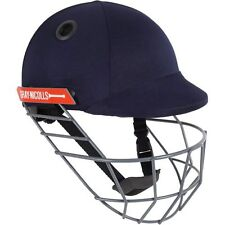 2020 Gray Nicolls Atomic Navy Cricket Helmet - Steel Grill