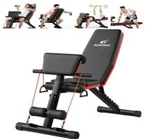 Home Gym Adjustable Weight Bench Workout Bench, Adjustable Sit Up Incline Abs