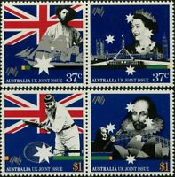 Australia 1988 SG1145 Joint Issue With UK set MNH