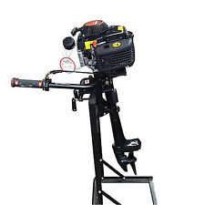 4HP Boat Engine 4-Stroke Outboard Motor Air Cooling CDI System 52cc 2.8 kW UPS
