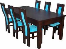 Esstisch + 6 Stühle Esszimmer Stuhl Set Essgruppe Moderner Tisch Tische Neu Z41