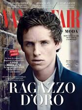VANITY FAIR Magazine ITALY, Eddie Redmayne The Theory of Everything NEW
