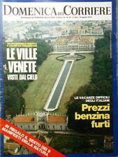 La Domenica del Corriere 14 Agosto 1973 Pavarotti Sogni Navona Tonti Muti Ville