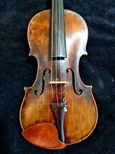 Antike Geige Meistervioline Inschrift. Xaveri Wagner Ellwangen anno 1820