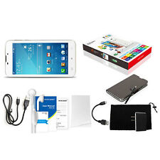 """96"""" 3G Smartphone Unlocked Tablet PC Android 4.4 Quad Core Phablet New 8GB White"""