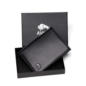 AVIMA® BEST Genuine Leather Passport Holder Travel Wallet - for Men & Women