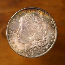 Raw 1884-O Morgan $1 Uncertified Ungraded New Orleans Toned Silver Dollar Coin