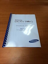 SAMSUNG GALAXY TAB S 8.4 SM-T700 PRINTED INSTRUCTION MANUAL USER GUIDE 82 PAGES