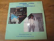Johnny Clarke Meets  Cornell Campbell     Rare Vinyl LP    252