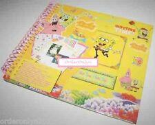 SpongeBob Scrapbook With 65 Stickers Arts & Crafts Hobby