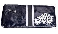 Akademiks Women's Banner Year Black Handbag Clutch Purse