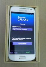Samsung Galaxy S4 mini GT19195 8gb  white frost Sim Free