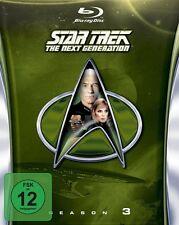 STAR TREK: THE NEXT GENERATION, Season 3 (6 Blu-ray Discs) NEU+OVP