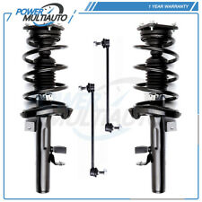 For 2012 2013 Ford Focus 2.0L Auto Trans Front Complete Struts & Sway Bar Link
