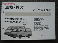 JDM TOYOTA TOWNACE / LITEACE R20 R30 Series Original Genuine Parts List Catalog