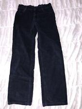 Petit Bateau Boys Navy Corduroy Pants Jeans Size 12 Euro 150 Adjustable Waist
