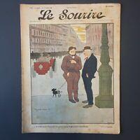 Le Sourire N° 3 du 11 Novembre 1899 - Illustrateur Cappiello & Roubille