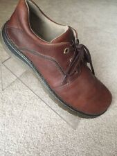 Dr. Martens Brown Leather Men Lace Up Casual Oxfords Shoes 13 M Solid Condition