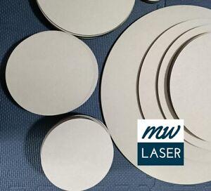 6mm Thick - MDF Wooden Round Circle Shape DIY Art Craft Resin Art Blank Circles