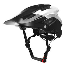 RockBros Bike Bicycle MTB Cycling Helmet USB Recharge Smart Light Black White