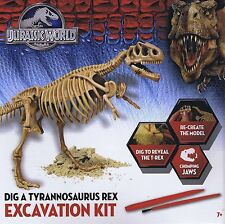 JURASSIC WORLD scavare un kit di Dino Tyrannosaurus Rex Kit Scavo