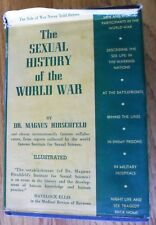 The Sexual History of the World War HC DJ by Dr. Magnus Hirschfeld 1941