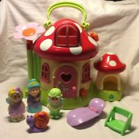 Elc Happyland Toadstool Fairy House With Sounds & Figures