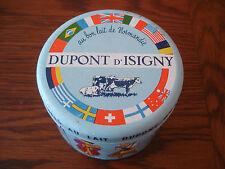 Boite ancienne Caramels  DUPONT d'ISIGNY  lait de normandie