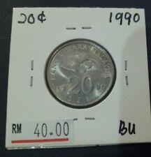Malaysia 20 SEN 1990 BU