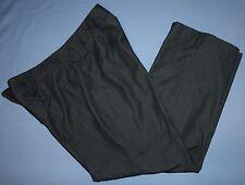 Sharangano Petite Sz 12P 12 P Faded Black Pants Womens Casual Straight Leg