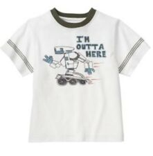 New Gymboree ROBOT I'm Outta Here SHIRT 7 boys  Mr