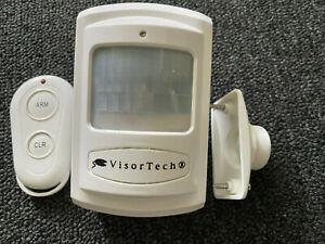 VisorTech Bewegungsmelder Handy, Alarmanlage mit SIM-Karten-GSM-Funktion - Top!!