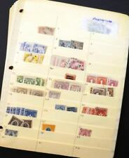 EDW1949SELL : LIBERIA Mint & Used stock neatly arranged. Cat by owner $1,700+