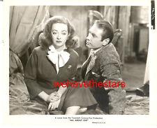 """Vintage Bette Davis ALL ABOUT EVE '50 """"Salted Peanut"""" Publicity Portrait"""